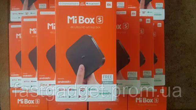 SmartTV Mi box S 2/8 Xiaomi СмартТВ приставка Android 3 x96 mini m8s