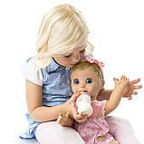 РУССКОЯЗЫЧНАЯ Интерактивная кукла Spin Master Luvabella / Лувабелла Blonde Hair Interactive Baby Doll, фото 6