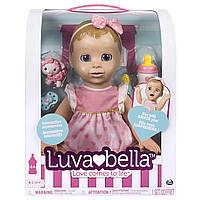 Интерактивная кукла Spin Master Luvabella (рус) / Luvabella Blonde Hair Interactive Baby Doll (RU)
