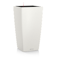 Умный вазон Cubico 22 белый глянец
