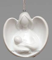 Фарфоровая подвесная фигурка Ангел (Pavone)