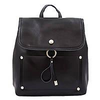 Рюкзак женский городской кожаный  NN RU-NN14277 черный