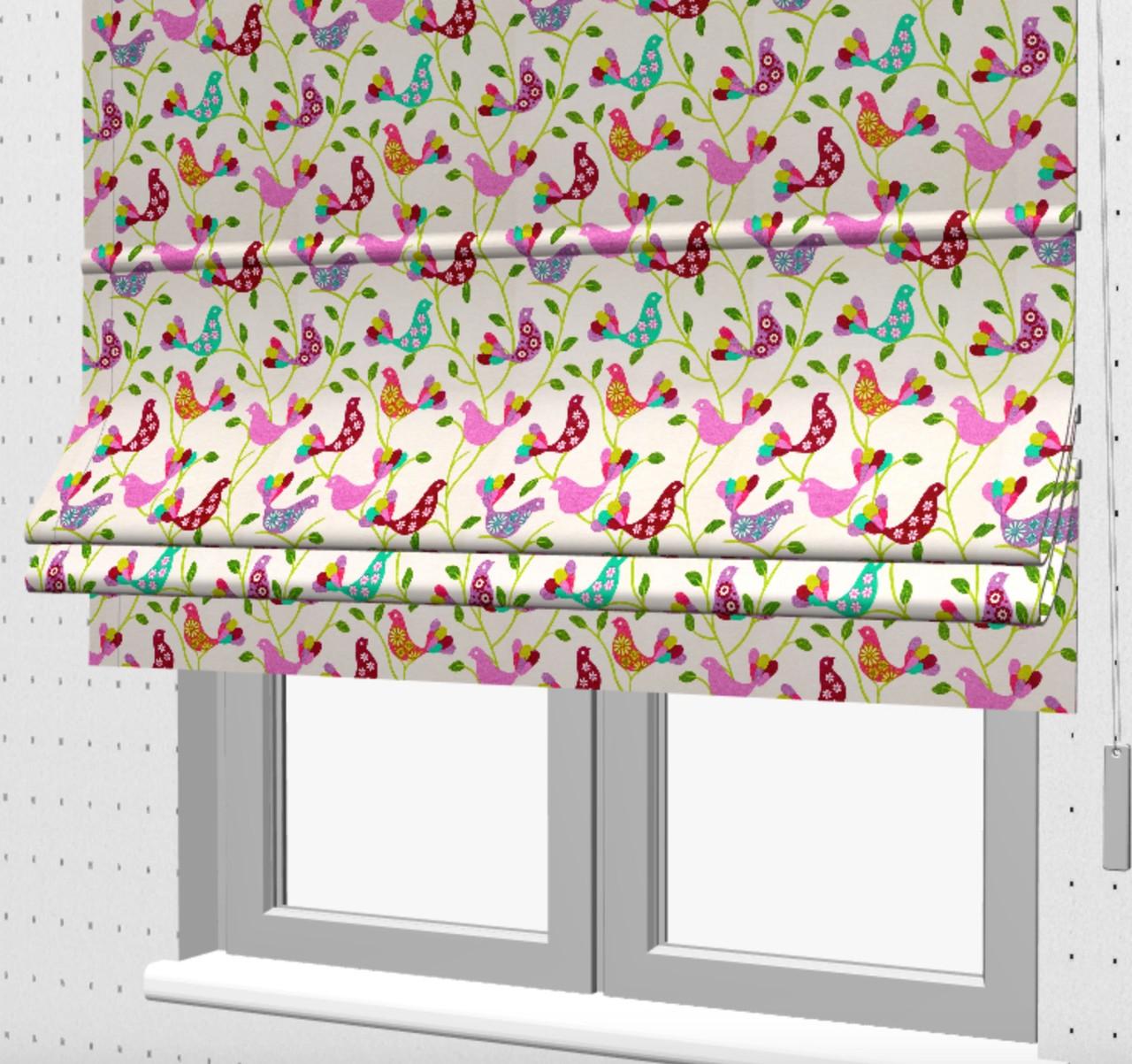 Римські штори на кухню з балконом 071046v2