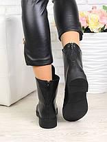 Кожаные ботинки с болтами 6732-28, фото 3