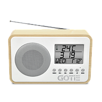 Радіобудильник GOTIE GRA-100S, фото 1
