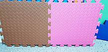 Мягкий коврик-пазл EVA SportMax 200х150 см, 12 элементов (с узором), фото 3
