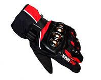 Теплые зимние мотоперчатки Probiker Winter с утеплителем