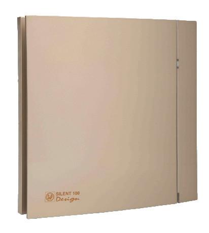 Вентилятор бытовой осевой S&P SILENT-200 CZ CHAMPAGNE DESIGN - 4C (230V 50)