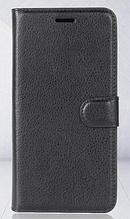 Чехол-книжка для Meizu M6 Note черный