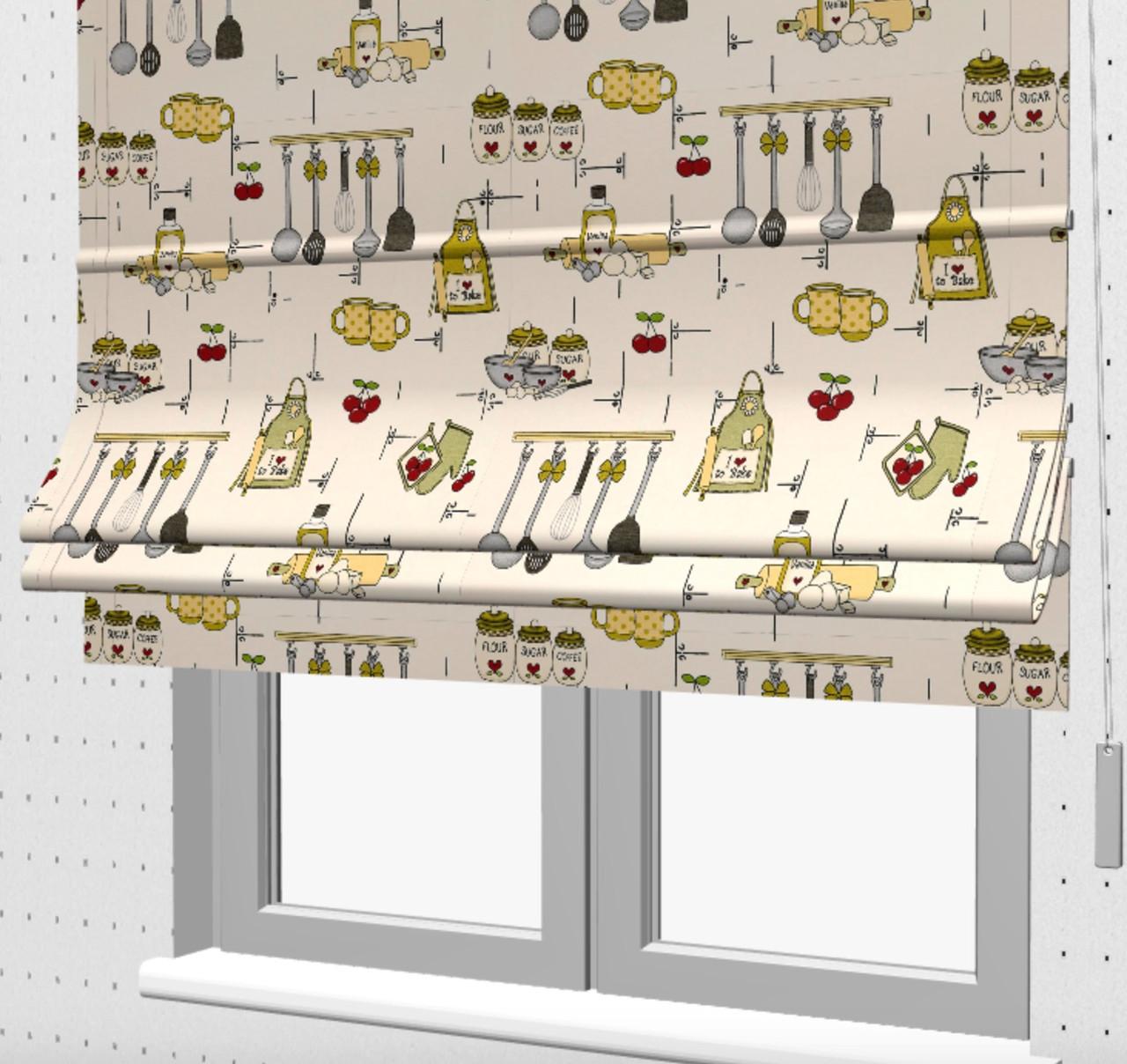 Римська штора на кухню 121302v4