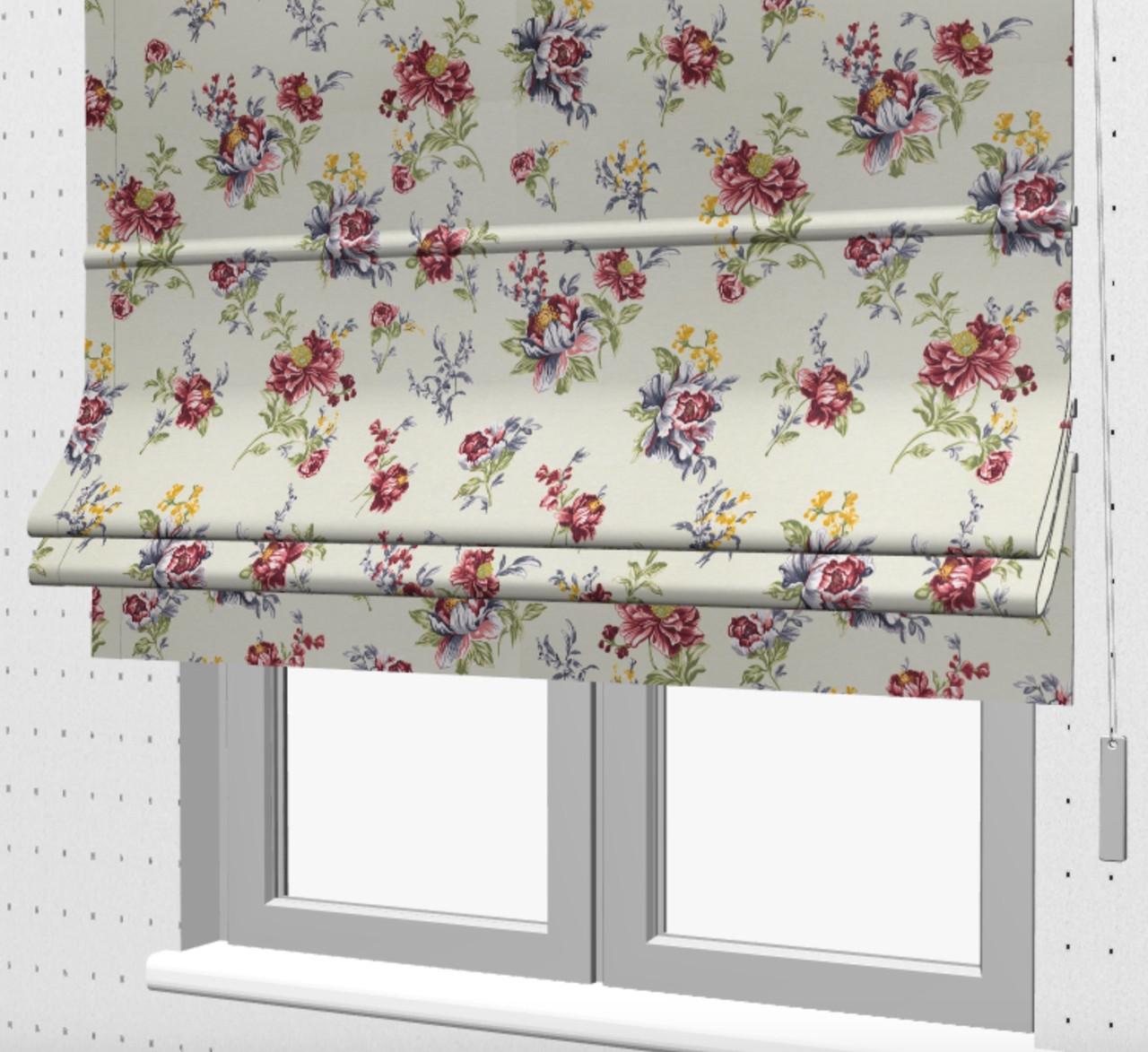 Римські штори на кухню з балконом 130439v1