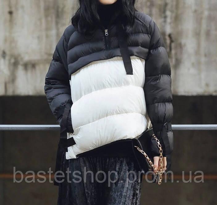 7c0c5f7400a Тёплая Женская Куртка Анорак с Завязками