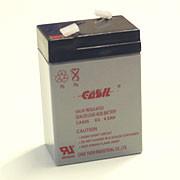 Casil 645 6V 4.5Ah АКБ Герметичный свинцово-кислотный аккумулятор SLA - ДЦ ЕЛЕКТРО (DC ELEKTRO) в Сумах