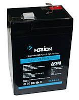 Merlion MLB 645 6V 4.5Ah АКБ Герметичный свинцово-кислотный аккумулятор SLA