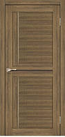 Двери межкомнатные,Korfad, Scalea, SC-03, со стеклом сатин бронза/черное