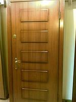 Двері вхідні металеві з плитамиМДФ на замовлення