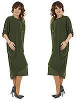 Плаття Styllo F199 One-size Оливковий (F199-5) 6b9b34a802bba