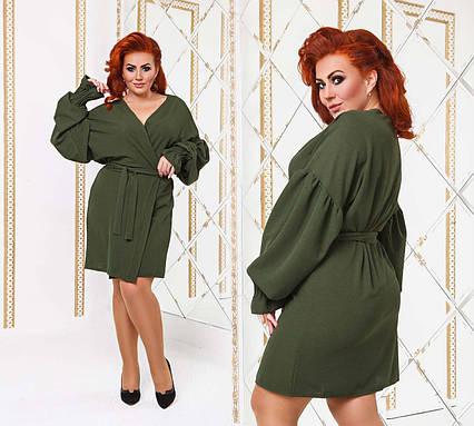 b692a596483 Стильное женское платье до больших размеров 501