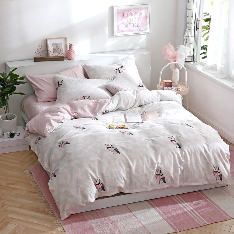 Комплект постельного белья Филин (двуспальный-евро) Berni Home