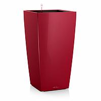 Умный вазон Cubico 22 красный глянец