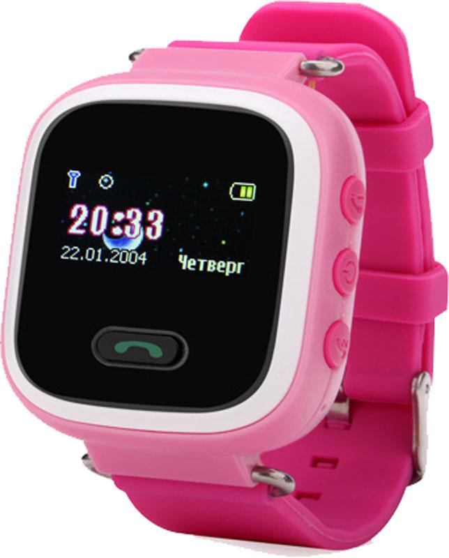 Детские смарт-часы с GPS трекером GW900 [Q60] pink