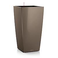 Умный вазон Cubico 22 серо-коричневый