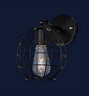 Настенный светильник,бра лофт 707W107-1BK