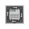 Терморегулятор Livolo для электрического теплого пола цвет серый (VL-C701TM-15)