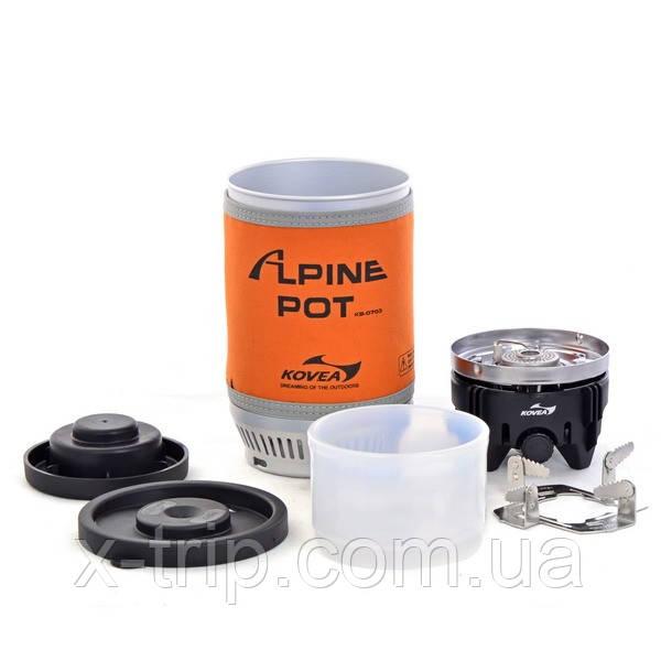 Газовая горелка Kovea Alpine Pot KB-0703