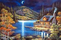 Пазл 1000 элементов Ночь на озере 102990 Castorland