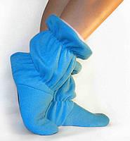 Тапочки-сапожки tf 17 низкие голубые