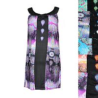 Женская котоновая ночная рубашка (БАТАЛ) DS104 оптом со склада на 7км.