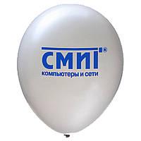 Трафаретная печать на воздушных шарах