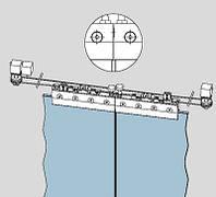 Раздвижная система Dorma RS-120 для стеклянных дверей