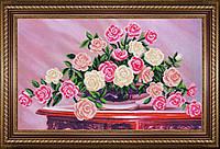 Набор для вышивки бисером Букет садовых роз