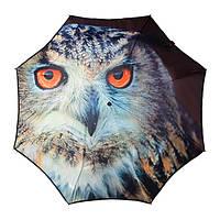 LGF40-OWL Зонт механика складной необычный