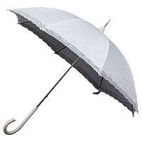 LR1-8111  Зонт трость кружевной свадебный