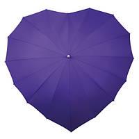 LR8-9077 Зонт трость Сердце Сирень