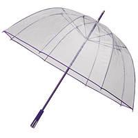RD2.PMS814c Зонт трость прозрачный большой