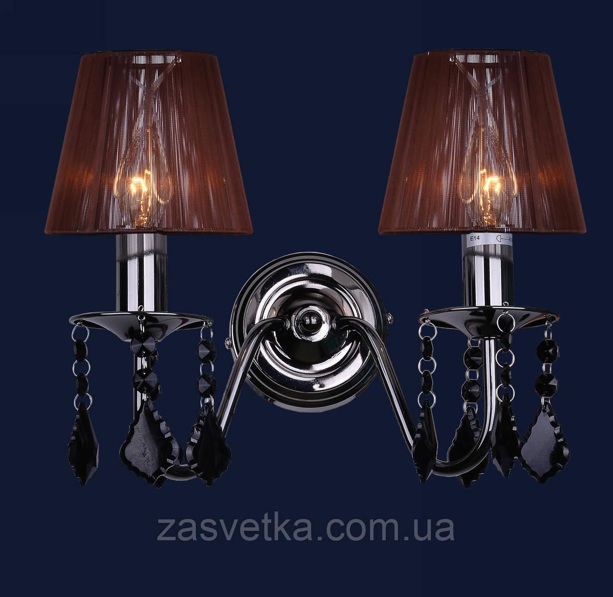 Бра,настенный светильник 720W4002BL-2BL BROWN