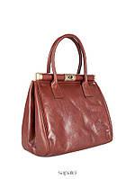 Женская кожаная сумка от французского производителя
