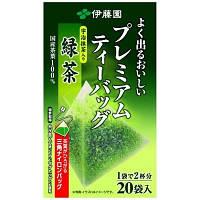 Японский зеленый чай ITOEN Premium