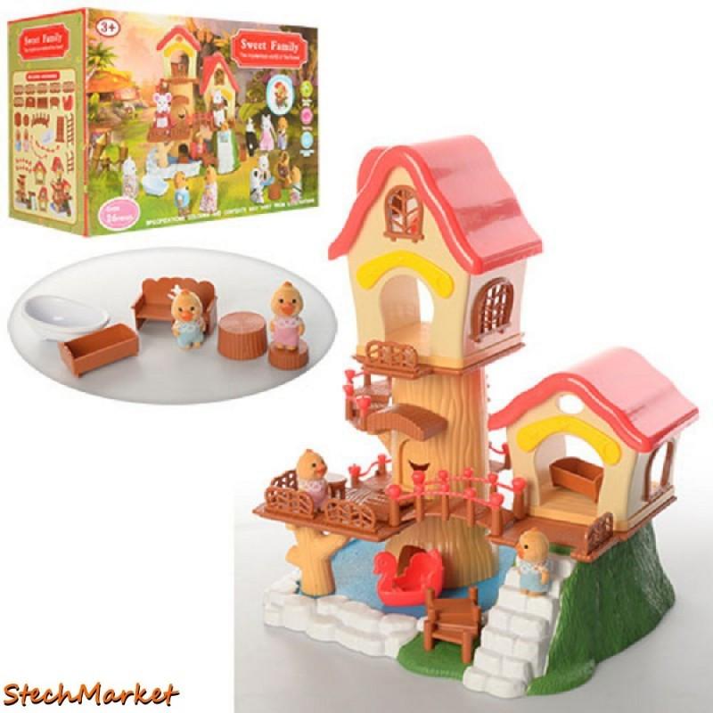 Игровой набор «Домик Happy Family» 1508 26 деталей