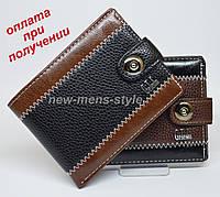 Чоловічий чоловічий шкіряний гаманець портмоне гаманець гаманець Geleniu, фото 1