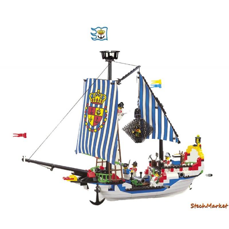 """Конструктор """"Пиратский корабль"""" Brick 305 310 деталей"""