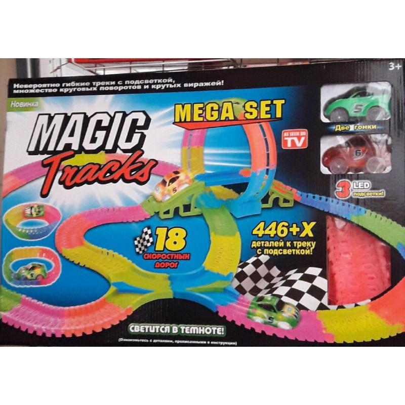"Гоночная трасса Magic Tracks ""Мертвая петля"" 446+X деталей (конструктор)"