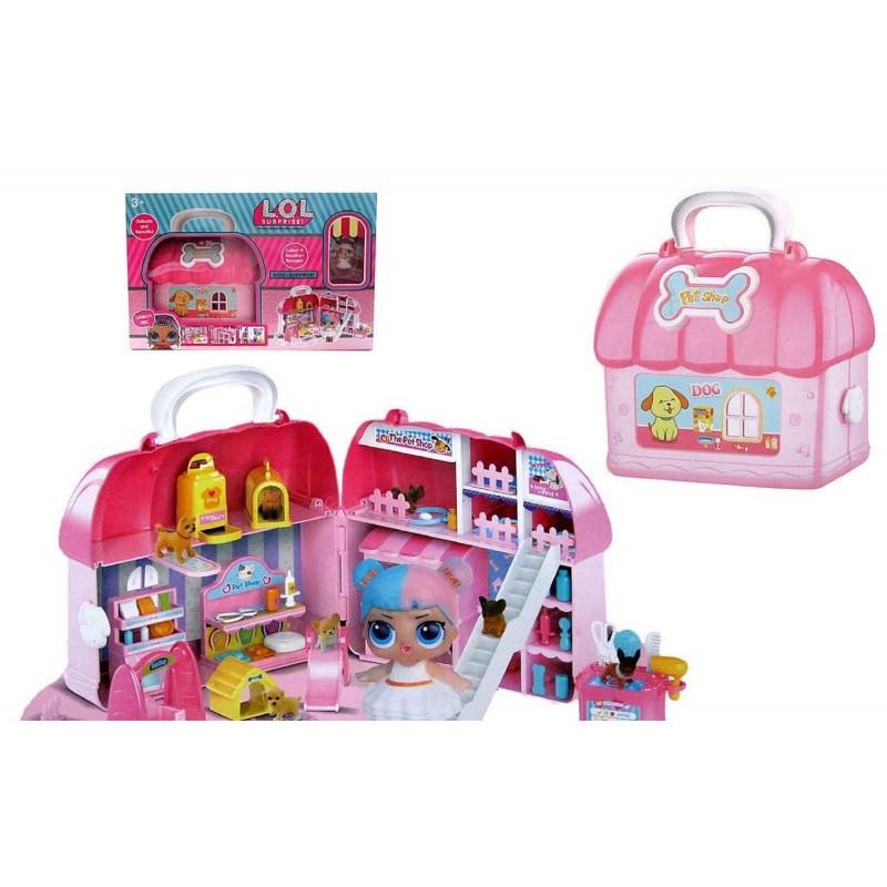 Кукла L.O.L Pet Shop Зоомагазин в сумочке QL045-1