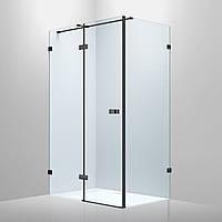 🇪🇸 Volle De la Noche Душевая кабина 1200*900*2000мм (стекла+двери)левая, распашная, стекло прозрачное 8мм с Nano покрытием, артикул 10-40-195L-black