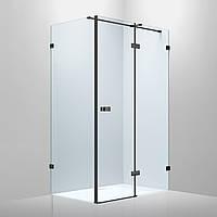 🇪🇸 Volle De la Noche Душевая кабина 1200*900*2000мм (стекла+двери)правая, распашная, стекло прозрачное 8мм с Nano покрытием, артикул 10-40-195R-black