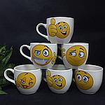 Чашка детская смайлик, фото 2